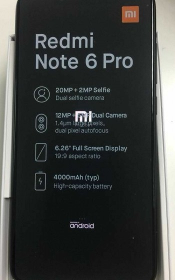 Redmi Note 6 Pro Early Unit Hand's On Review - Newswire - Mi