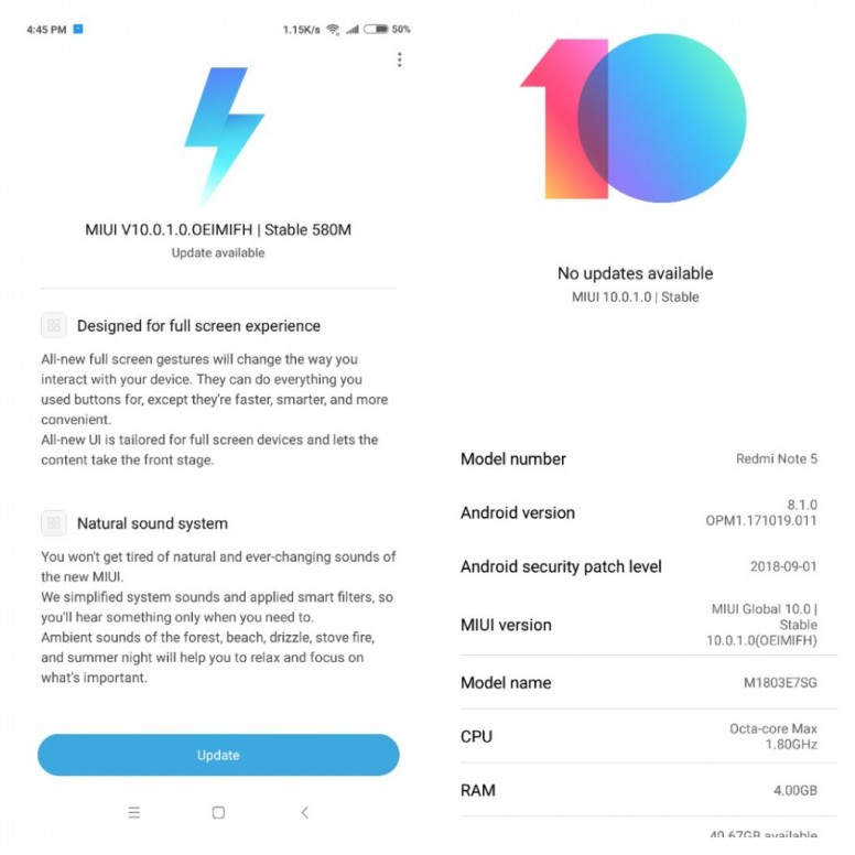 miui 10 stable rom