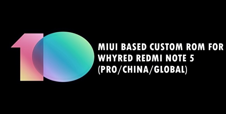 ALL MIUI CUSTOM ROMS WHYRED (PRO/CHINA/GLOBAL) - Redmi Note