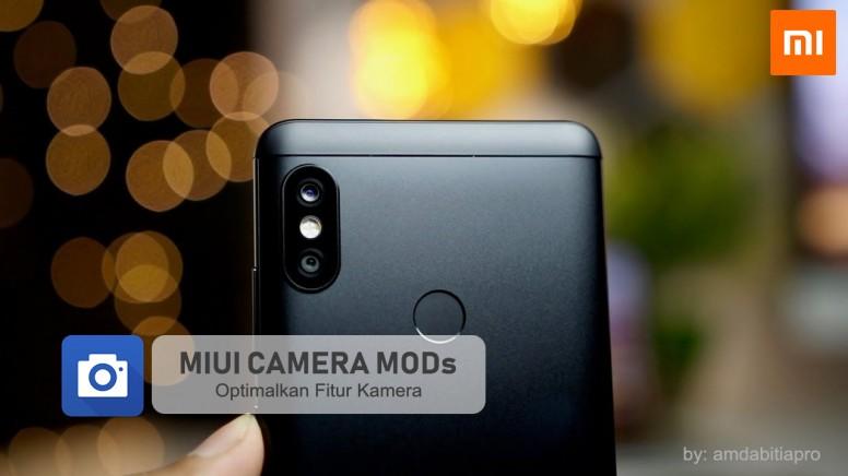 Cara Pasang MIUI Camera MODs v2 di Redmi Note 5 / Pro (Whyred