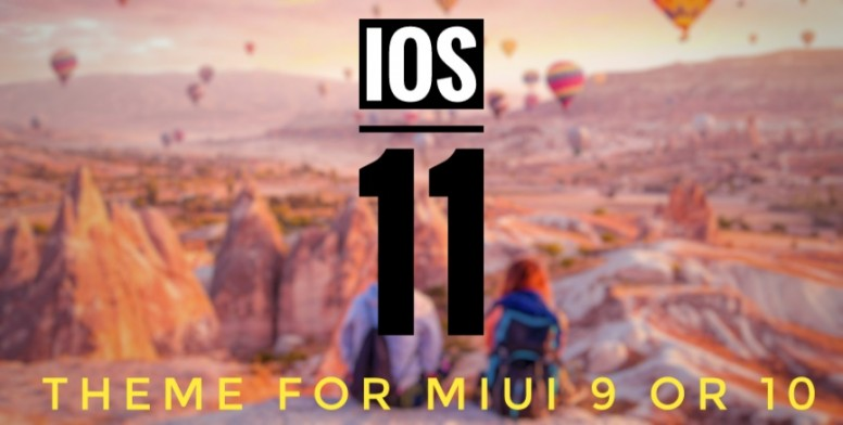 IOS 11 (10 and X) Theme for MIUI 9 & 10 - Themes - Mi