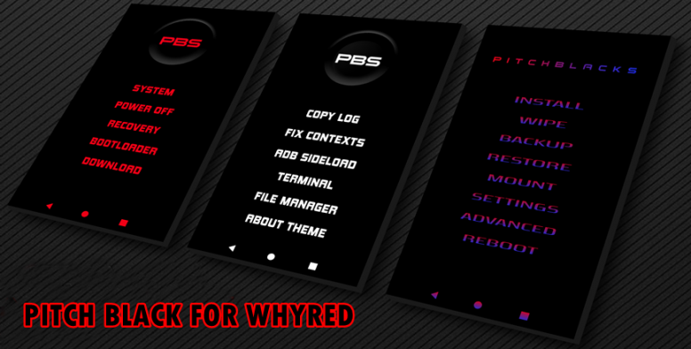 PitchBlack Recovery for Redmi Note 5 (Whyred) - Redmi Note 5