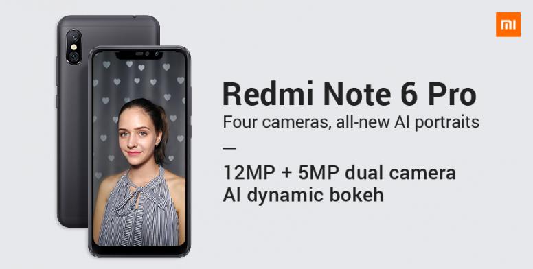 Redmi Note 6 Pro: New AI Portrait 2 0 and Rear Dual Camera