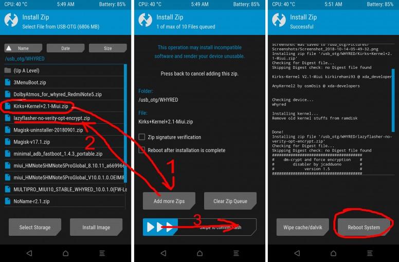 Dongkrak Performa Redmi Note 5 (whyred) Dengan Custom Kernel - Redmi