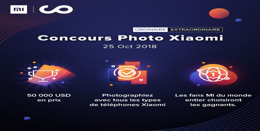 Xiaomi Photrography Challenge : 50000 USD de lot a gagner!!