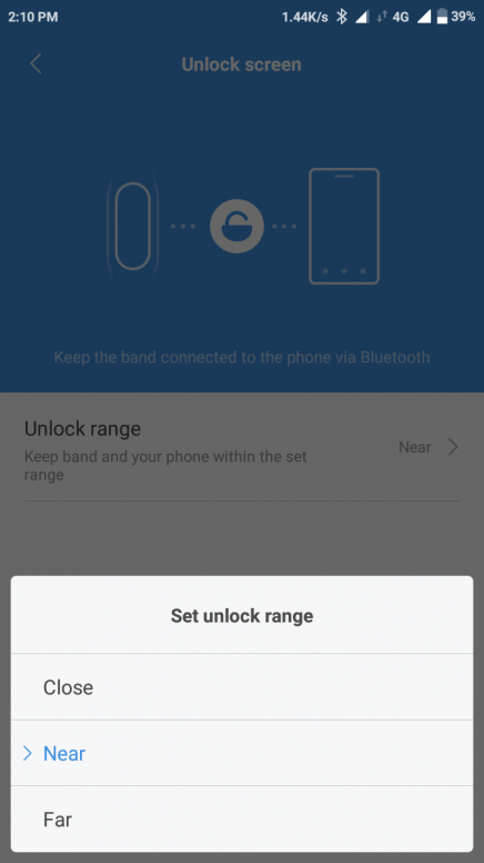 All about Bluetooth unlocking, how to unlock your smartphone using Mi fit app