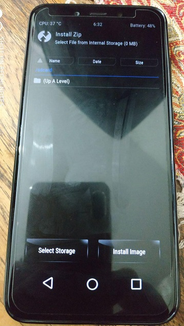 Atasi Bug Twrp ( Minta Password Decrypt Data & Internal