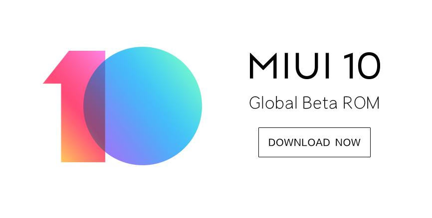 MIUI 10 Global Beta ROM 8.11.8: full changelog & download links