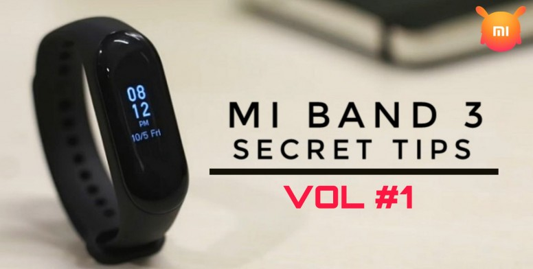 Mi Band 3 Secret Tips Vol#1] How to control music player with your