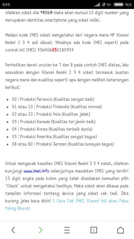 Cek Kode Produksi Untuk Negara Mana Redmi Note 5a Mi Community