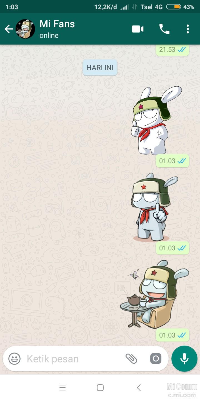 Cara Membuat Sticker Di Wa Whatsapp Sumber Mi Community Xiaomi