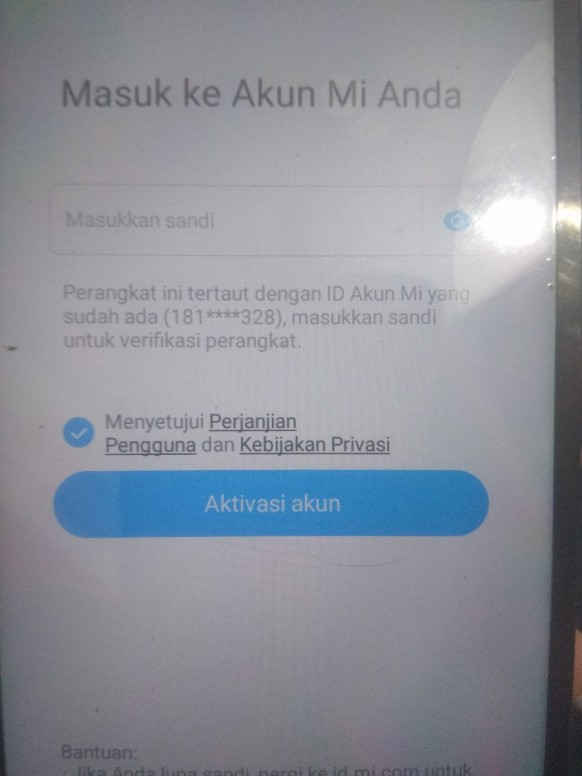 Lupa Sandi Akun Mi Redmi Note 5a Mi Community Xiaomi
