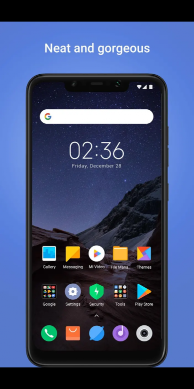 Pocophone Launcher Dor All Tema Mi Community Xiaomi