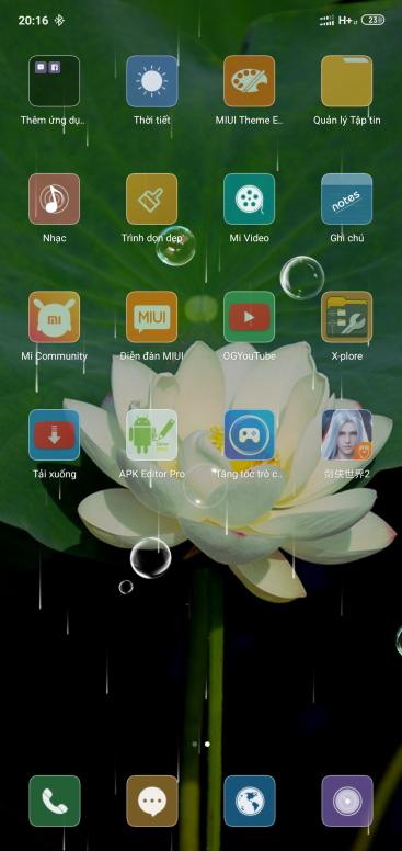 hỏi về áp dụng chủ đề bên thứ 3 - Dòng Mi - Mi Community - Xiaomi