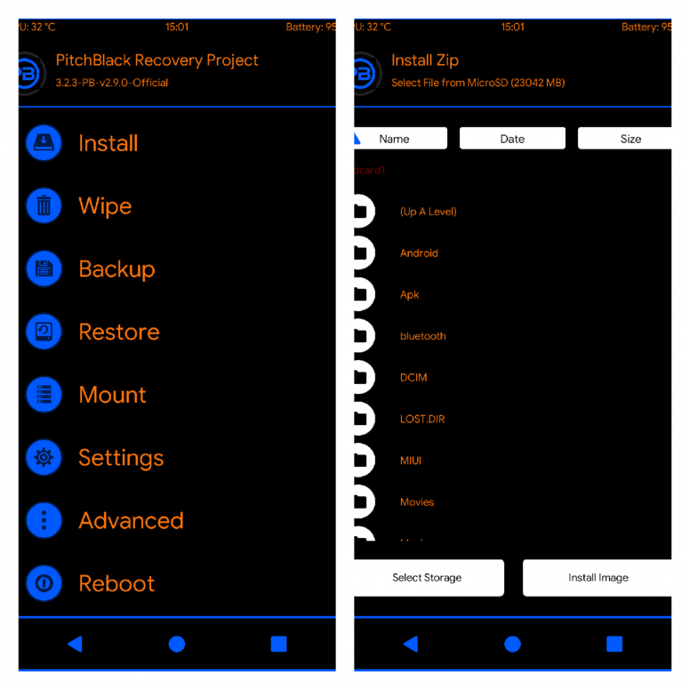 Pitch Black Recovery-The Best Custom Recovery - Flashing Guide - Mi