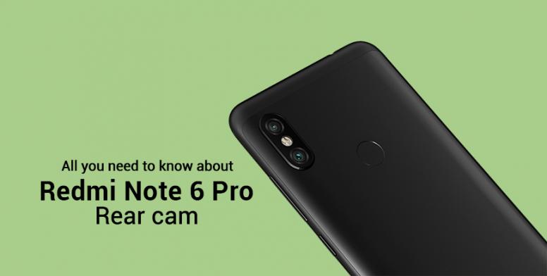 Redmi Note 6 Pro - Rear Camera Explained! - Redmi Note 6 Pro - Mi