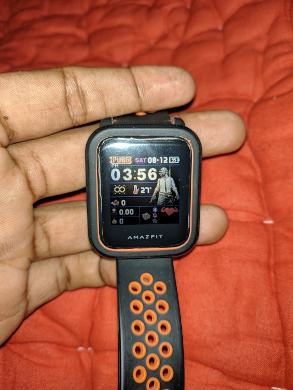 How to use custom Watch Face on your AmazFit Bip - Tips and Tricks