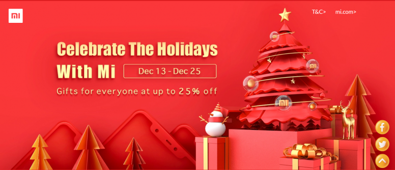 Christmas Deals.Celebrate The Holidays With Mi Christmas Deals On Mi Com