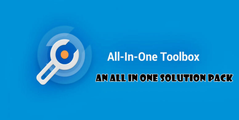 All in one tool box - an all in one solution pack