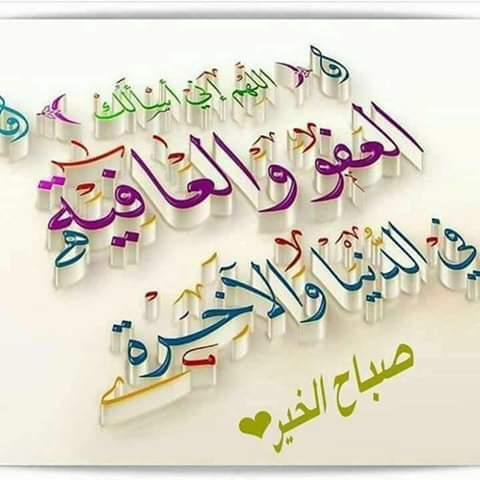 اللهم اسالك العفو والعافيه في الدنيا والاخره