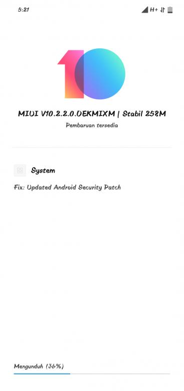 Update MIUI 10 2 2 0 Xiaomi Redmi Note 6 Pro - Redmi Note 6 Pro - Mi