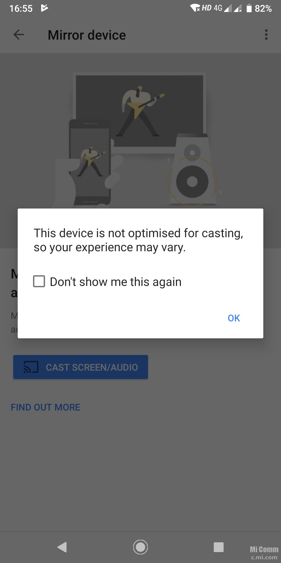 Screen Mirroring/ Cast - Mi A2 - Mi Community - Xiaomi