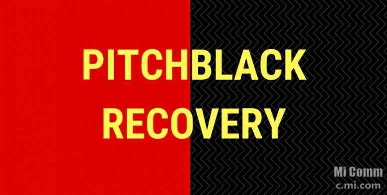 PitchBlack Recovery 27/01/2019 Update for Tulip - Redmi Note