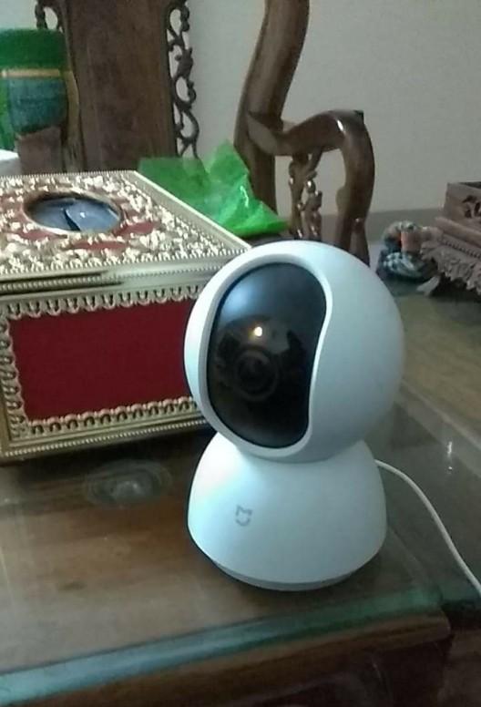 Hướng dẫn ] Cách fix camera security 360 Mijia bị treo đèn màu cam