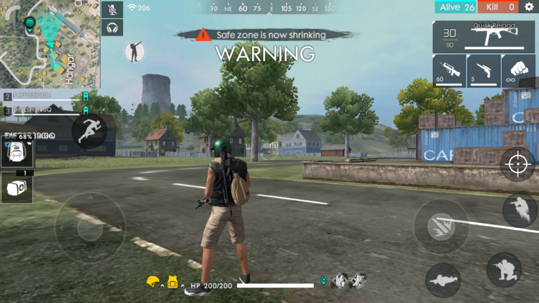 Garena Free Fire Best Survival Battle Games On Mobile