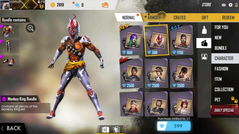 Garena Free Fire- Best Survival Battle Games on mobile