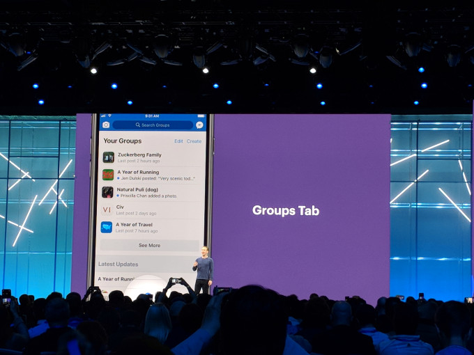 Facebook is launching a new Groups tab and plug-in - Tech