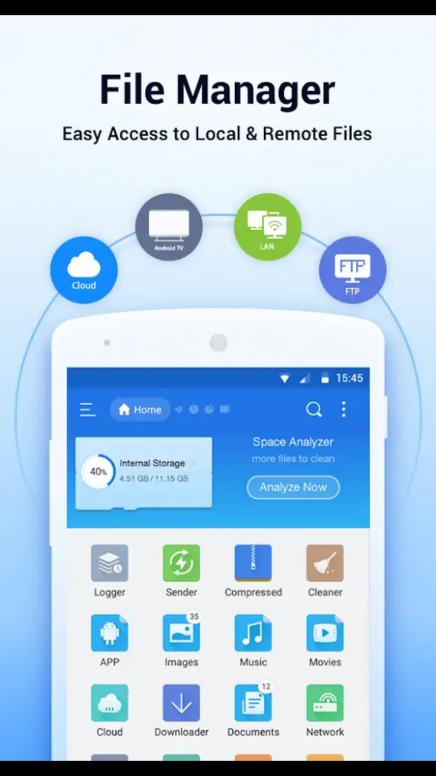 ES File Explorer-Best File Manager App - Resources - Mi