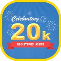 20K Registered Users