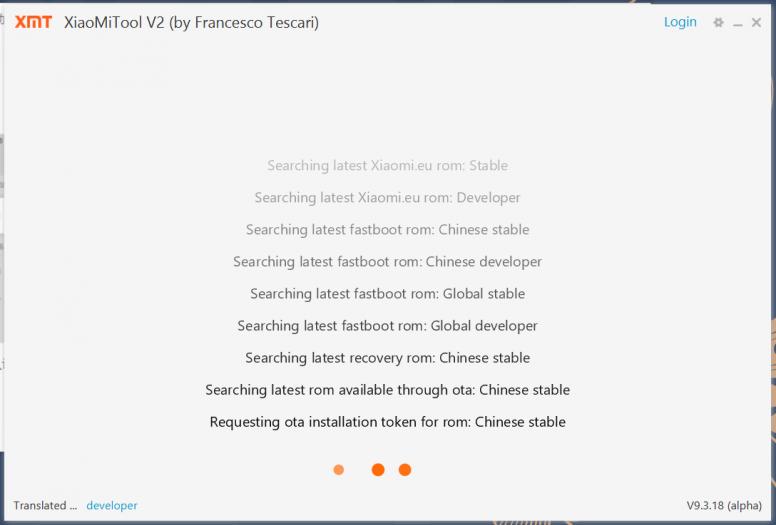 Xiaomi Tool V2 - Việc thực hiện cài đặt rom các thiết bị Xiaomi được