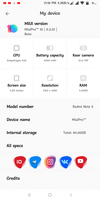 MiuiPro™_V3 1_9 3 22_Whyred ROM Review (User Experience) - Redmi