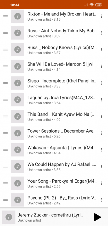 POCO F1 How can i transfer my google play songs to MI music