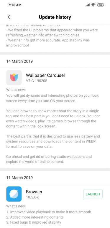 Wallpaper Carousel issue - POCOPHONE - Mi Community - Xiaomi