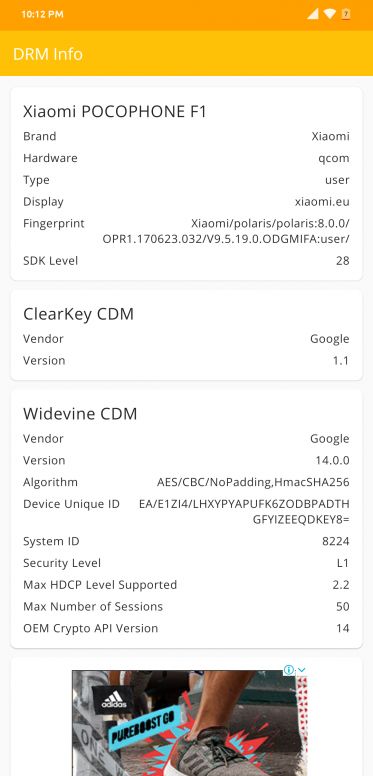 Widevine L1 and L3, should my Xiaomi phone be certified