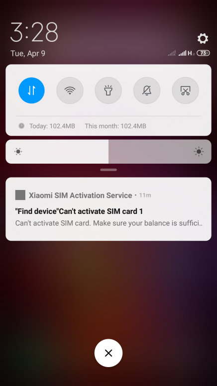 find device can't activate sim card - MIUI General - Mi Community
