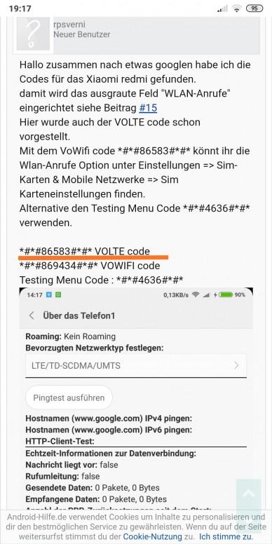 note 6 pro support volte feature ? - Redmi Note 6 Pro - Mi