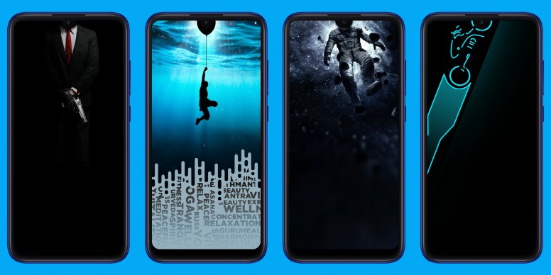 Dot Notch Wallpapers For Redmi Note 7 Series Designed By Mi Fans Download Them Now!