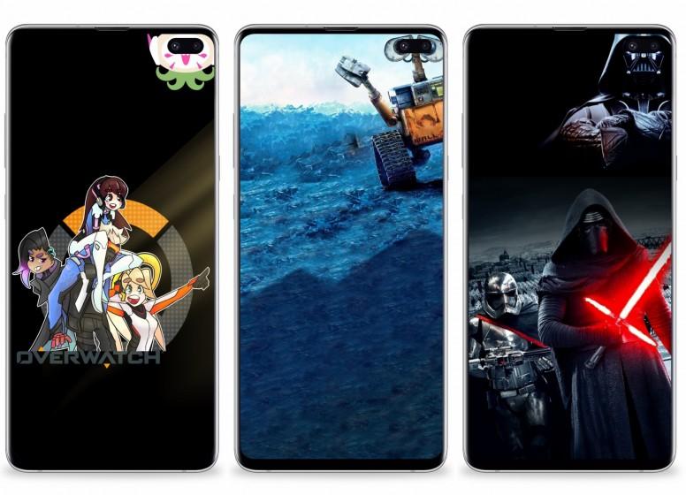 Mi Resources Team Samsung Galaxy S10 Plus Hole Punch Styled