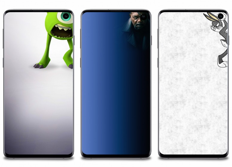 Mi Resources Team Samsung Galaxy S10 Hole Punch Styled Exclusive Wallpapers Wallpaper Mi Community Xiaomi