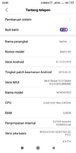 downgrade miui redmi 6a - Redmi 6/6A/Pro - Mi Community - Xiaomi