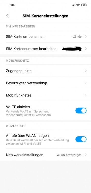 WifiCalling - WLanCall - VoWifi - Redmi Note 6 Pro - Mi Community