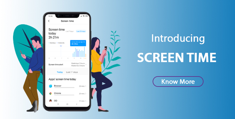 Introducing Screen Time on MIUI : Keep An Eye on Your ...