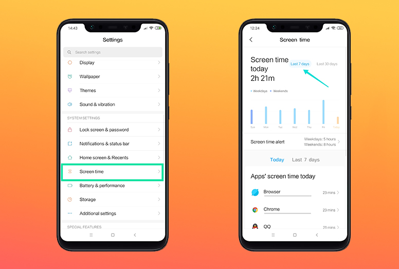 Introducing Screen Time on MIUI : Keep An Eye on Your