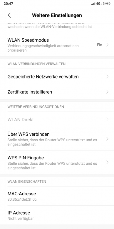 WPS Push Button - Redmi Note 5/Pro - Mi Community - Xiaomi