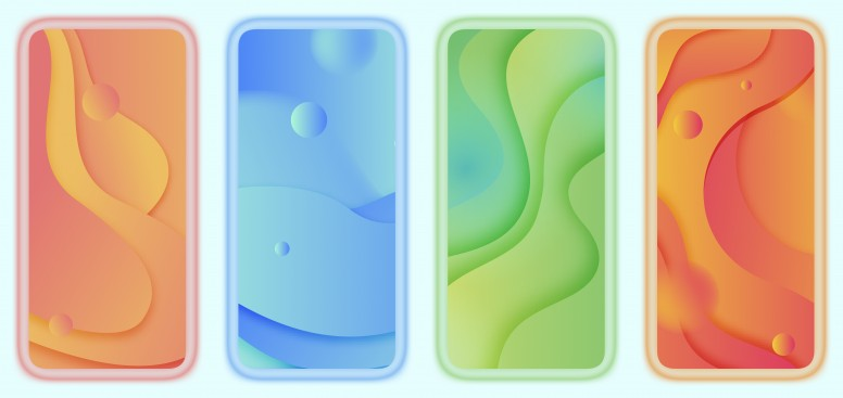 Weekly Wallpaper 2 Miui 11 Concept Abstract Silhouette