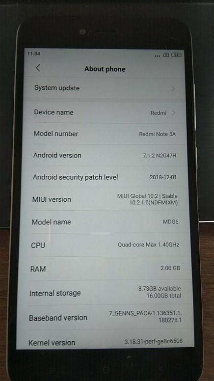 QR code provisioning on MIUI 10 - Redmi Note 5/Pro - Mi